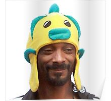Snoop Doggy Dog Hat Poster