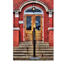 City Hall Entrance West Dundee Illinois Photographic Print