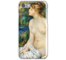 Renoir Auguste - Bather (1891)  iPhone Case/Skin