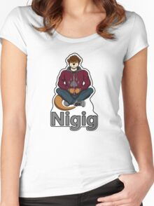 Nigig Women's Fitted Scoop T-Shirt