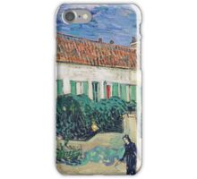 Vincent Van Gogh - White House At Night, 1890 iPhone Case/Skin