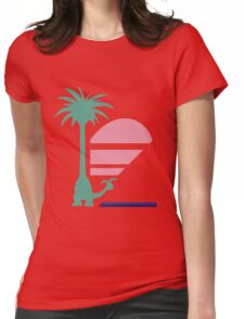 Pokémon Sun & Moon - Dexio's Vacation Shirt Womens Fitted T-Shirt