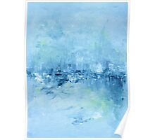Abstract in Blue Poster
