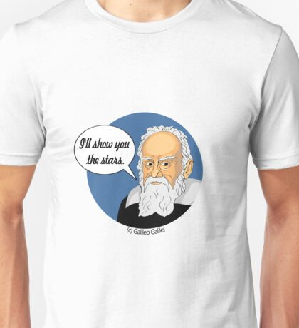 Funny science Galileo Galilei Unisex T-Shirt
