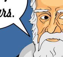 Funny science Galileo Galilei Sticker