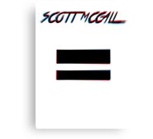 Scott McCall Canvas Print