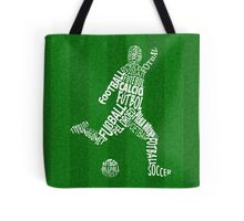 Soccer Football Languages Typography Tote Bag