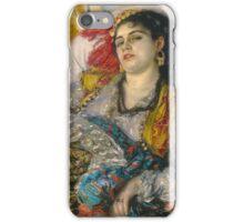 Pierre Auguste Renoir - Odalisque iPhone Case/Skin