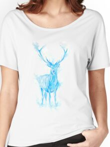 Prongs Stag Patronus Women's Relaxed Fit T-Shirt