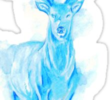 Prongs Stag Patronus Sticker