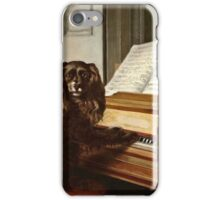 Philip Reinagle - Portrait Of An Extraordinary Musical Dog  iPhone Case/Skin