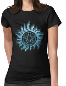 Supernatural blue Womens Fitted T-Shirt