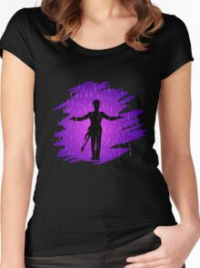 Purple Rain - Prince  Women's Fitted Scoop T-Shirt