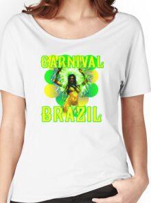 Carnival Brazil Women's Relaxed Fit T-Shirt