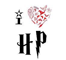 I Love HP Photographic Print