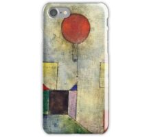 Paul Klee - Red Balloon  iPhone Case/Skin