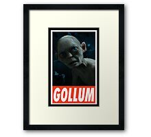 (MOVIES) Gollum Framed Print