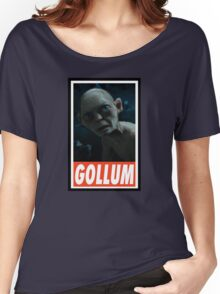 (MOVIES) Gollum Women's Relaxed Fit T-Shirt