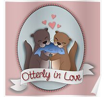 Otterly in Love uni Poster