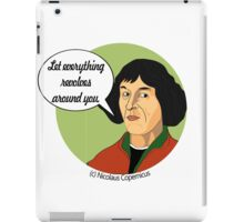 Funny Science Nicolaus Copernicus iPad Case/Skin