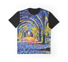 Fountains Abbey Series 006 Graphic T-Shirt
