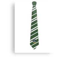 Slytherin Tie Metal Print