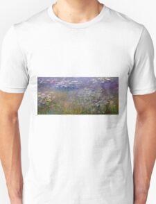 Claude Monet - Water Lilies (1915 - 1926)  Unisex T-Shirt