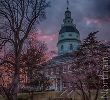 Maryland State House by Adam Northam