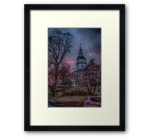 Maryland State House Framed Print