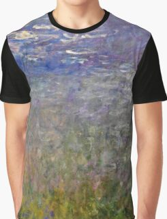Claude Monet - Water Lilies (1915 - 1926)  Graphic T-Shirt