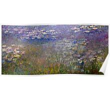 Claude Monet - Water Lilies (1915 - 1926)  Poster