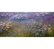 Claude Monet - Water Lilies (1915 - 1926)  Photographic Print