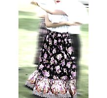 Dancing of Flowers  Photographic Print