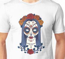 Sugar Skull Lady Unisex T-Shirt