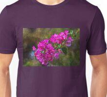 Pink Bougainvillea Impressionism Unisex T-Shirt
