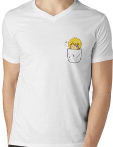 Armin Arlert Pocket Chibi Mens V-Neck T-Shirt