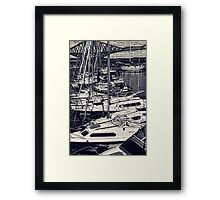 Queensferry Harbour Framed Print