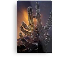 Same Cactus Different Day Metal Print