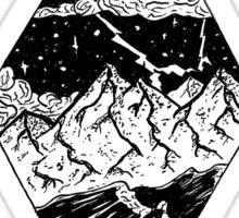 Scenery (Stormy Sea) Sticker