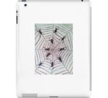 Spider web pattern iPad Case/Skin