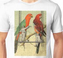 Parrots Mural  Unisex T-Shirt
