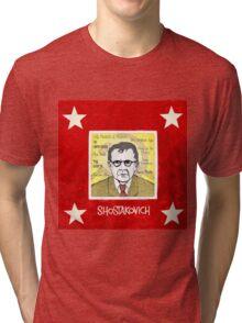 Dmitri SHOSTAKOVICH - the Russian composer Tri-blend T-Shirt