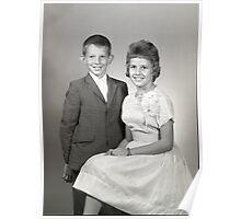 1962 SEDALIA HIGH SCHOOL PTA JR-SR QUEENS AND KINGS Poster