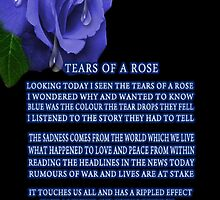 .இڿڰۣ-ڰۣ—TEARS OF A ROSE WRITTEN BY BONITA.இڿڰۣ-ڰۣ— by ╰⊰✿ℒᵒᶹᵉ Bonita✿⊱╮ Lalonde✿⊱╮