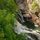 Waterfall - Tallulah Gorge by Evelyn Laeschke