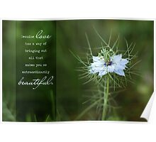 Genuine Love - Greeting Card Poster