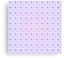 Pink and Purple flowers Canvas Print
