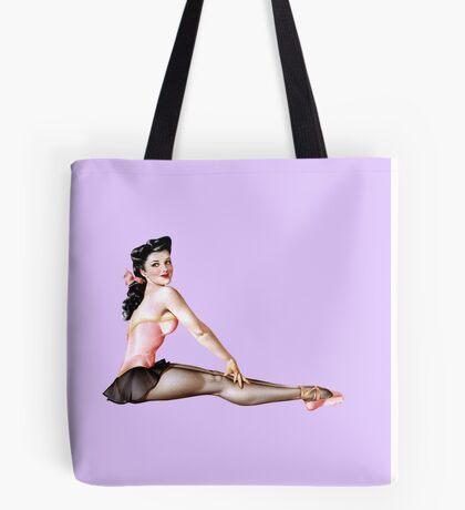 Gil Elvgren Pinup Ballerina Tote Bag