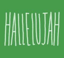 Hallelujah One Piece - Short Sleeve