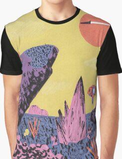 Alien Planet Graphic T-Shirt